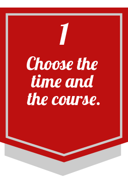 1 choose time course