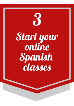 3 start your online spanish classes
