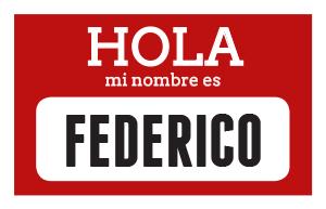 hola mi nombre es Fedrico